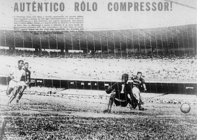 Flamengo 12 x 2 São Cristóvão - Em 1956, a maior goleada do Maracanã