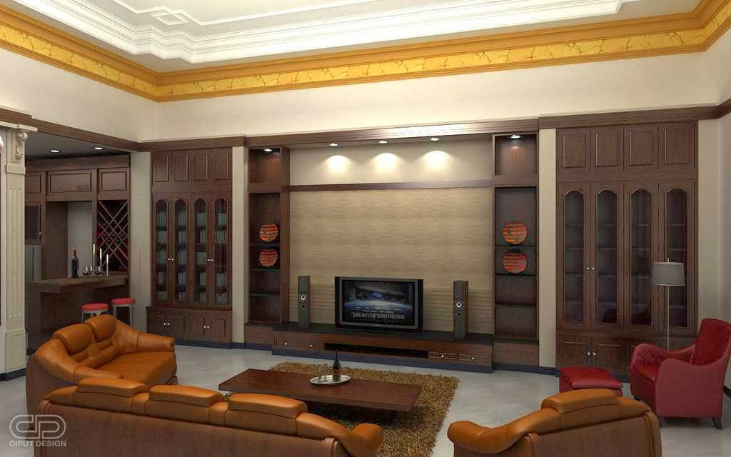 modern entertainment room design