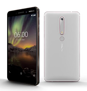 Nokia 6 second generation with Snapdragon 630, 4GB RAM in China.