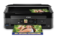 "The XP-310 features a 1.44 ""LCD display and memory card slots for easy, PC-free photo printing. Take your fingerprints and get away with DURABrite Ultra Instant Dry Ink."