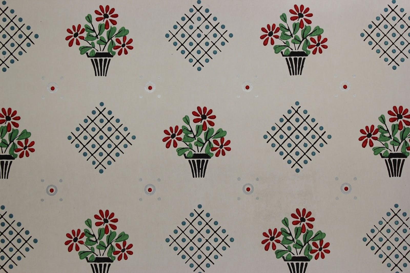 Kitchen Wallpaper Patterns Cabinet Pricing Rosie 39s Vintage History Of