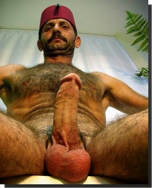 male Naked sexy Turkish daddy gay