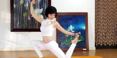 Khóa học online giảm cân ngay tại nhà trong 10 ngày bằng yoga