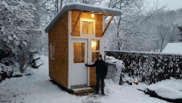 Luke Thill made the unimaginable possible by building his own tiny house