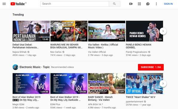 Youtube Situs Terlarang Di Indonesia