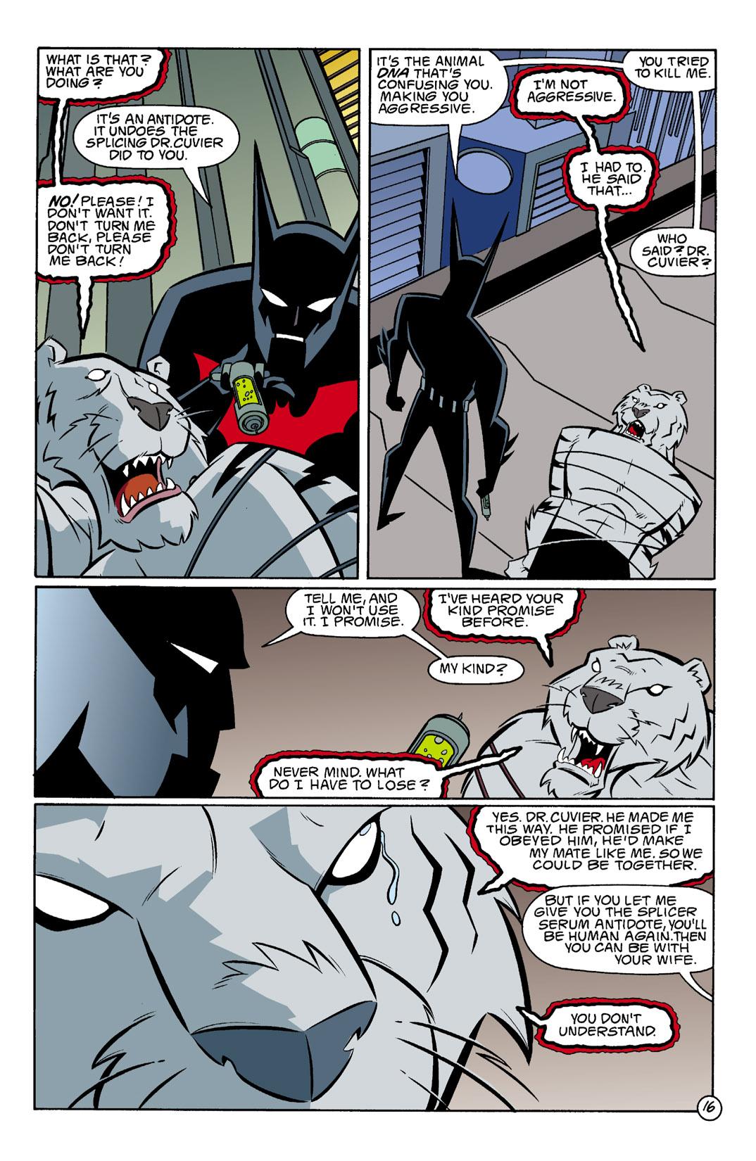 Batman Beyond [II] Issue #3 #3 - English 17