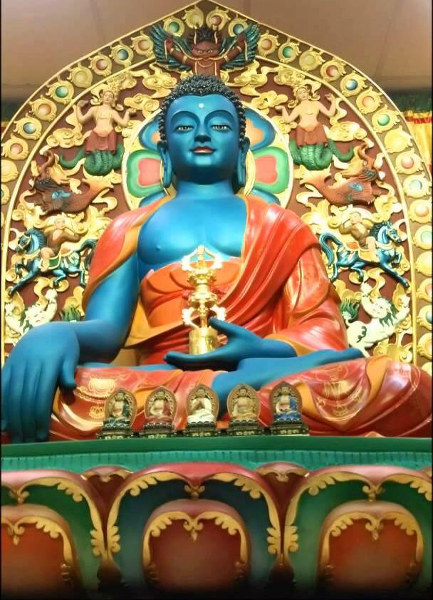 Tibetan Buddhism and Culture: The immovable one - Akshobhya