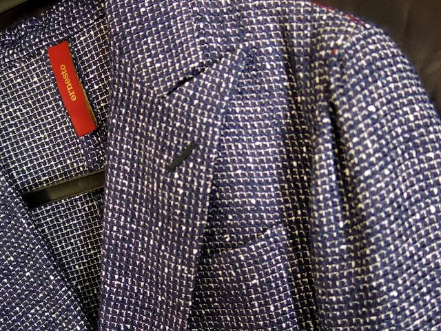 ERNESTOのダブルブレスト ジャケット