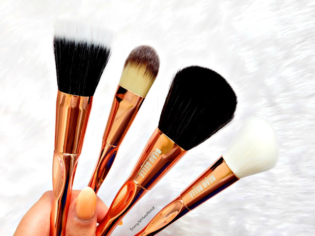 Beau Belle Rose Gold Brushes