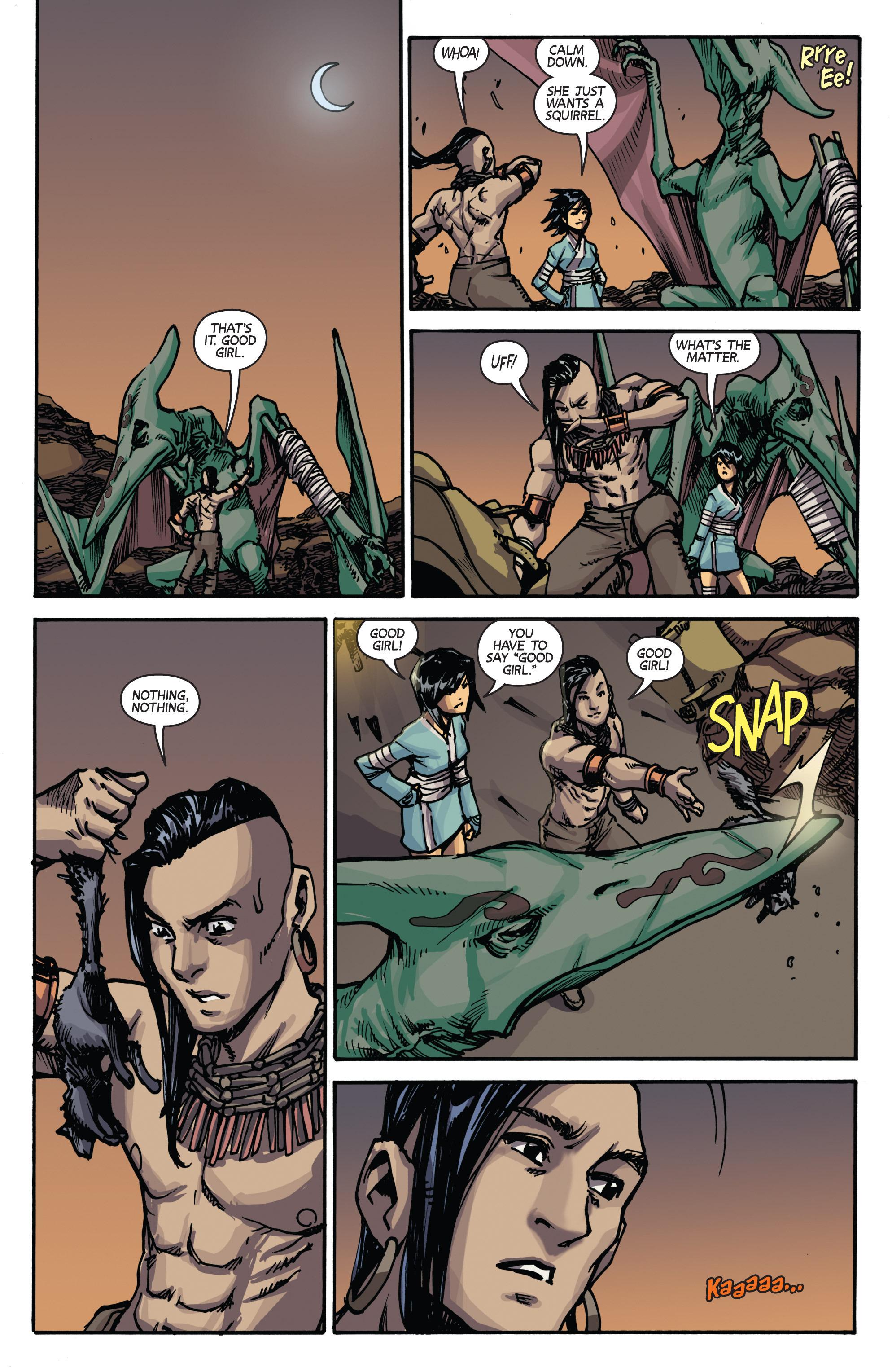 Read online Turok: Dinosaur Hunter (2014) comic -  Issue # _TPB 2 - 16
