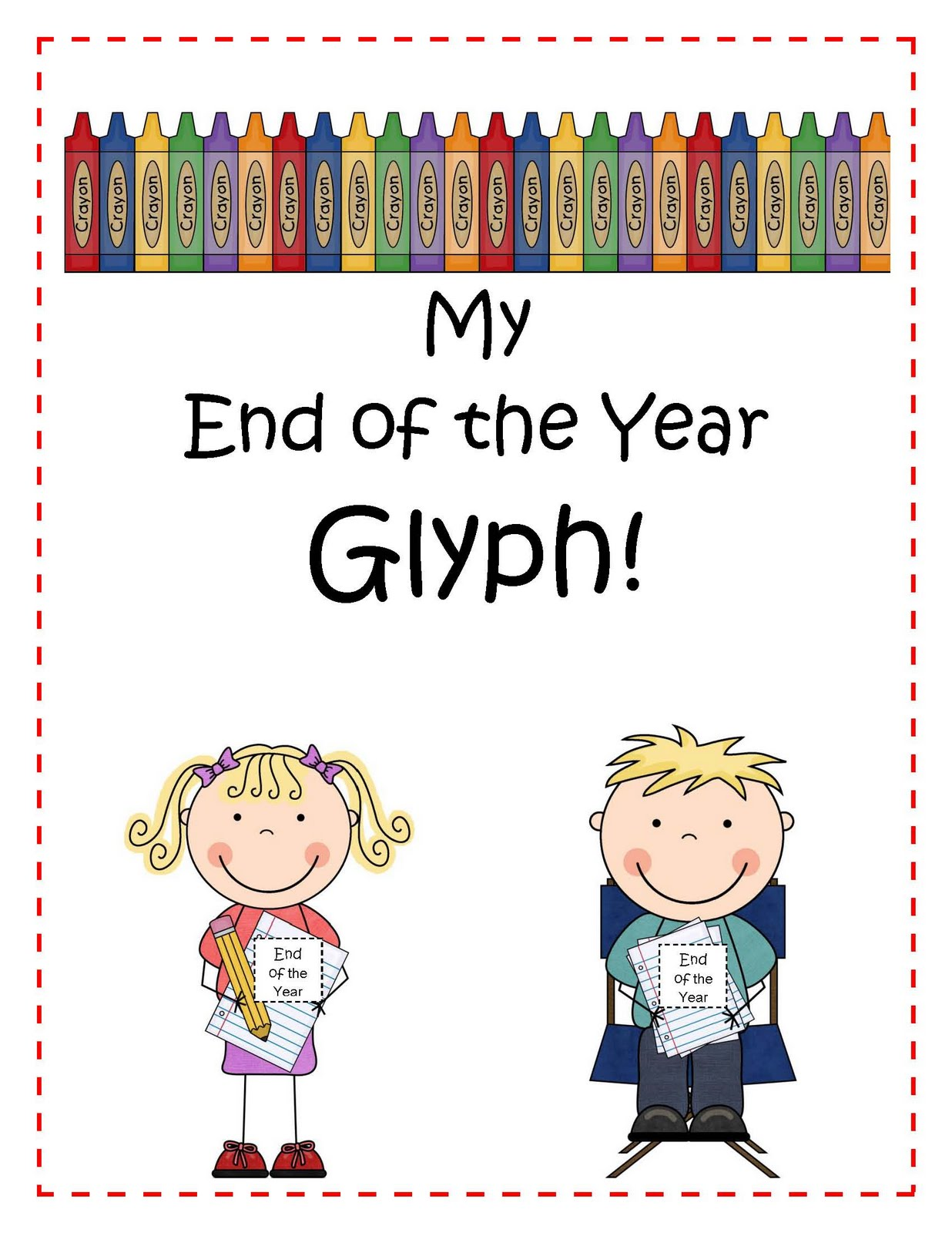 Engaging Lessons And Activities End Of The Year Glyph And