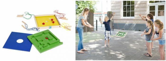 juguetes y juegos para ayudar a aprender a leer y escribir, laberinto loco