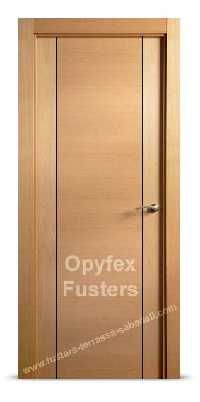 Puertas parquet flotante cocinas armarios a medida - Puertas madera barcelona ...