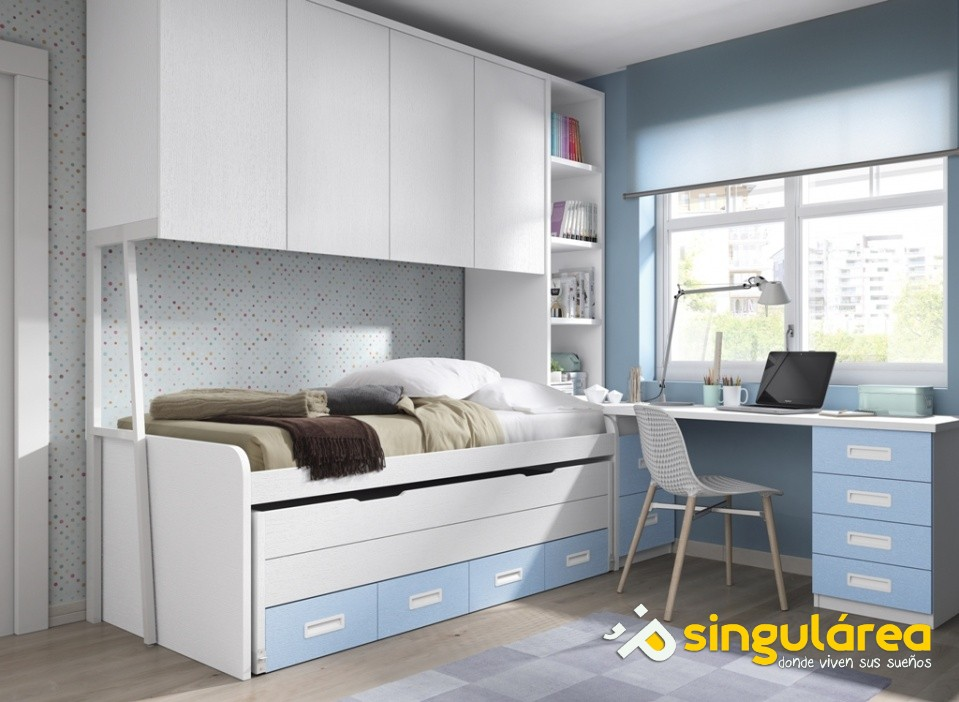 Blog dormitorios juveniles valencia dormitorios - Habitaciones juveniles 2 camas ...