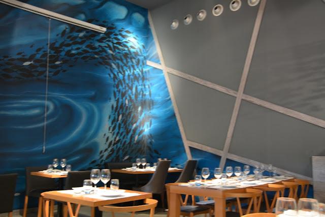 Restaurant Watatsumi Barcelona bar