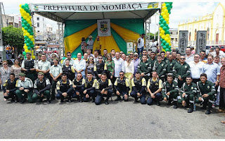 Demutran e Guarda Civil Municipal tomam posse em Mombaça