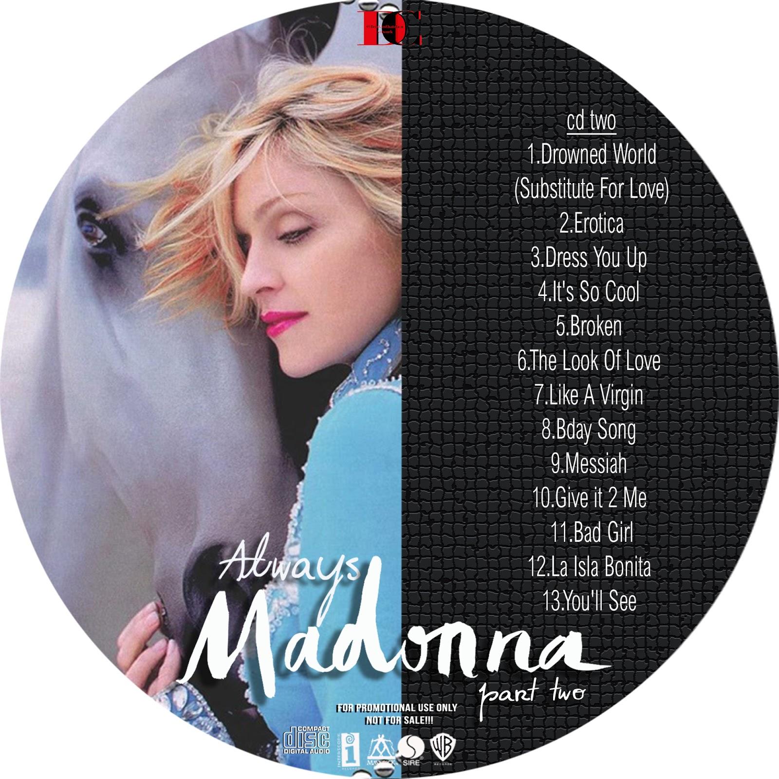 Madonnafreak Productions : Always Madonna (2 Albums 8 cd's)