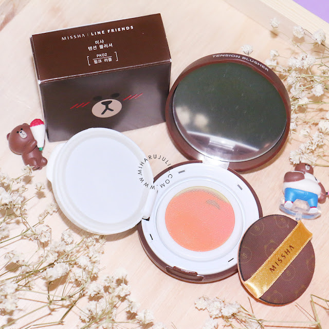 Missha x Line Friends Tension Blusher Review