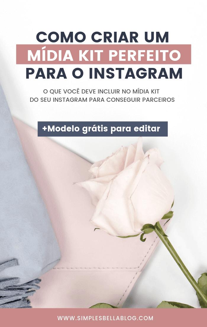 Mídia Kit Instagram, como fazer um midia kit instagram, Midia kit instagram template