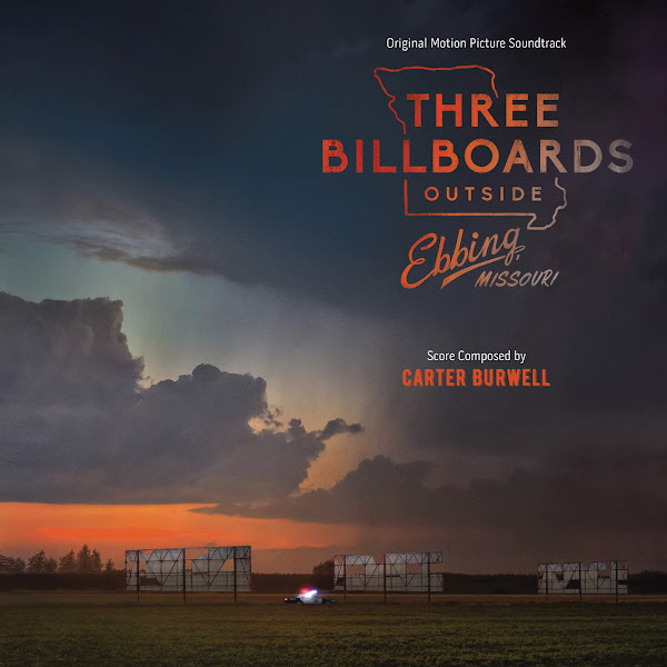 Carter Burwell - Three Billboards Outside Ebbing, Missouri (Original Motion Picture Soundtrack) Cover