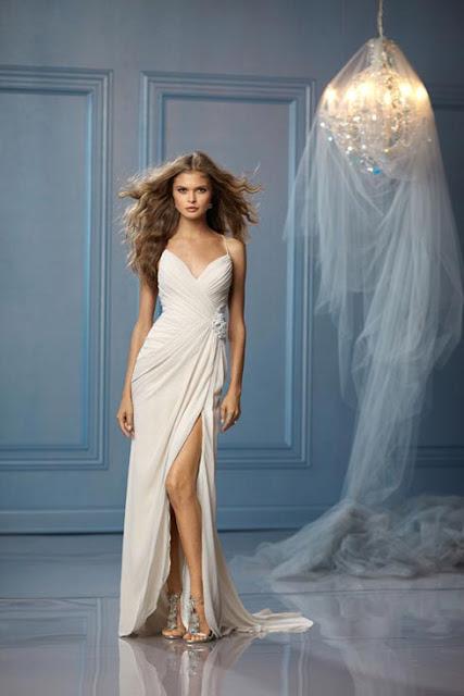 Simple Informal Beach Wedding Dresses Casual