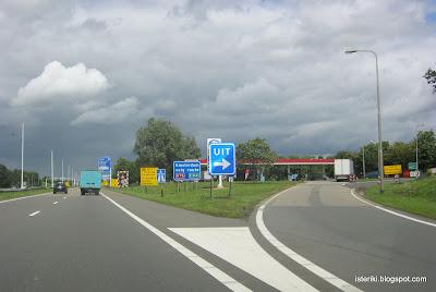 Amsterdan volg route
