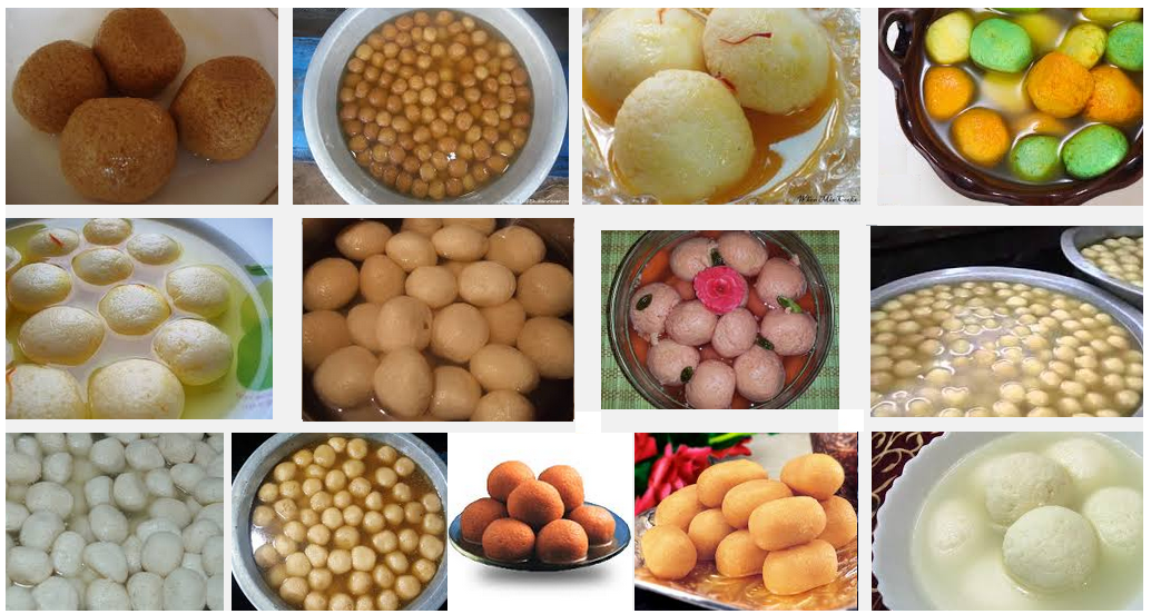 Rasagola-Birthplace is Odisha, India