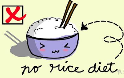 no rice diet, Menu Diet Seminggu Tanpa Nasi untuk Turunkan Berat Badan