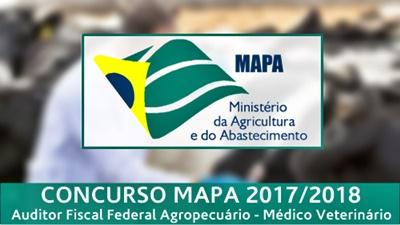 Concurso MAPA 2017 - Auditor Fiscal Federal Agropecuário