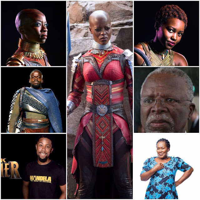 Meet The Africans Featured In Black Panther