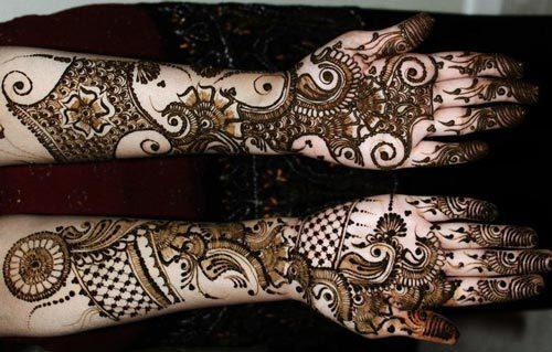 Khaleeji Mehndi Designs For Hands 2016