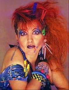 Cyndi Lauper 80s Hair