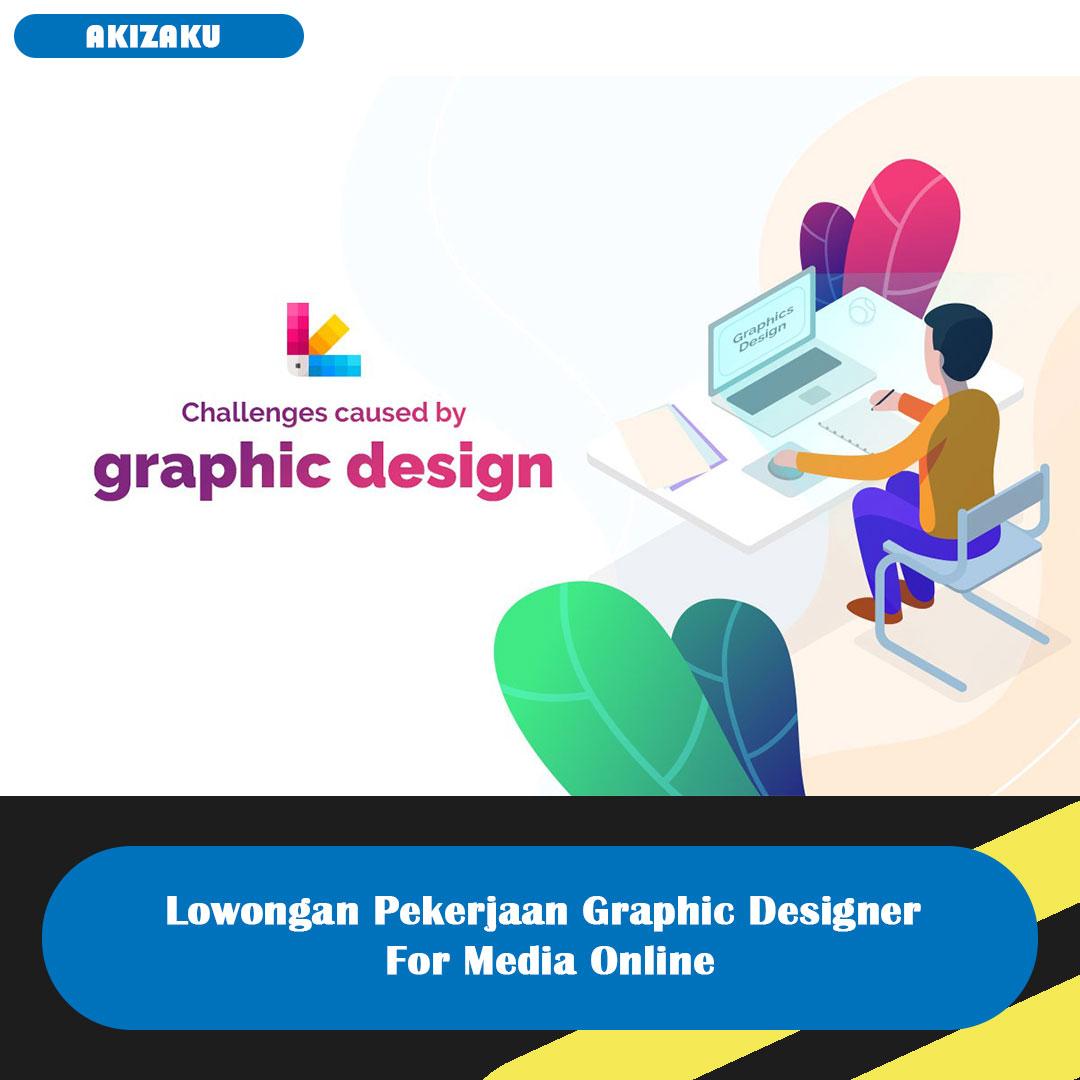 Lowongan Pekerjaan Graphic Designer For Media Online ~ Paprika Living