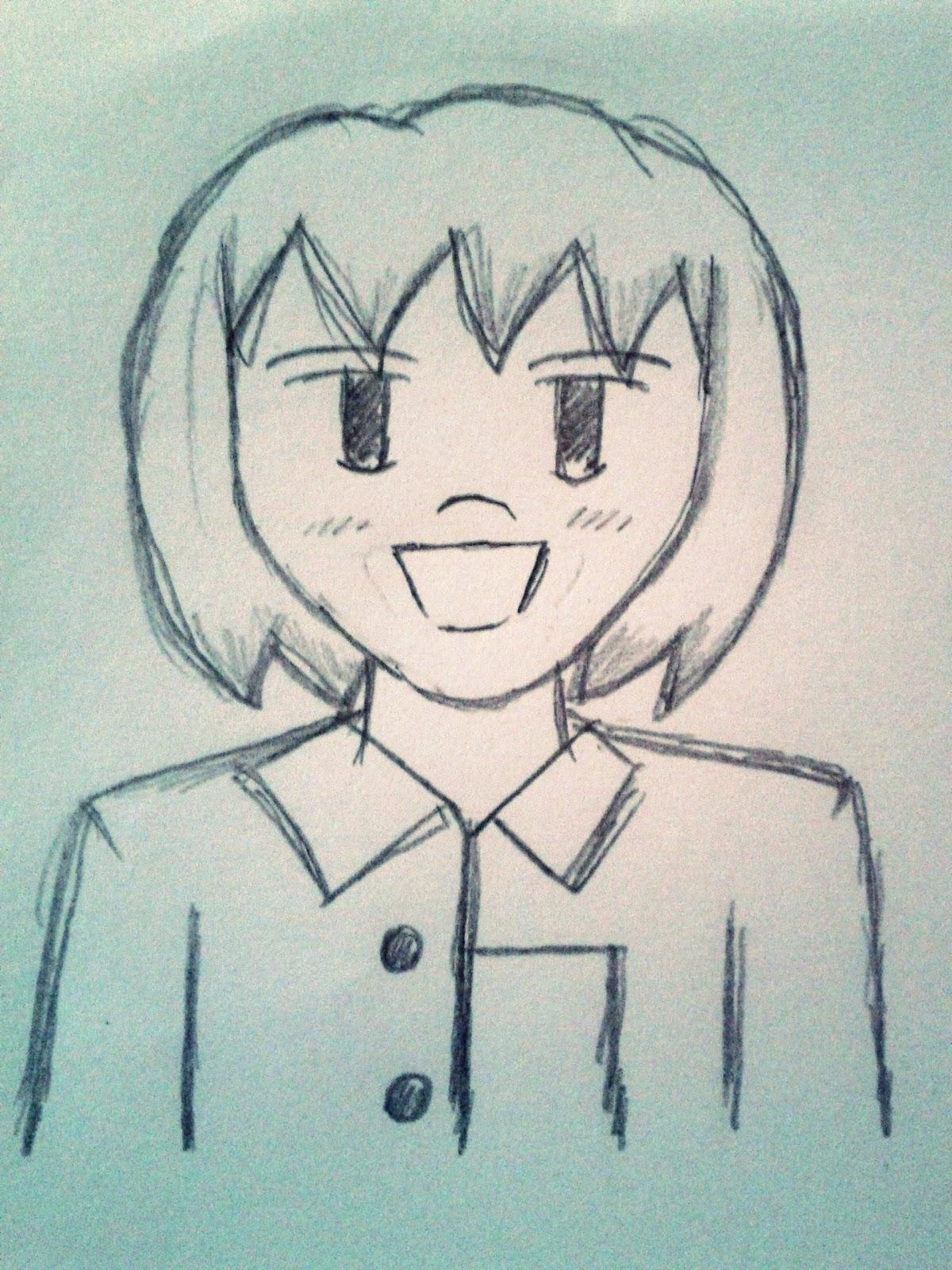 800 Gambar Anime Lucu Pencil HD Terbaru