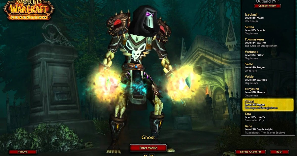 Master of World of Warcraft : Get a cool WoW character name for Legion