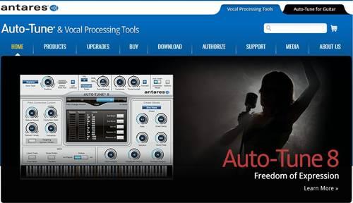 Antares Audio Technologies: Photoshop para música