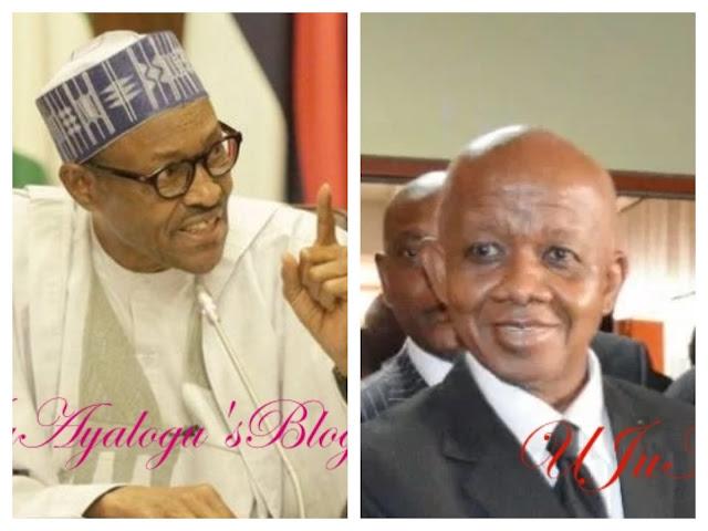 Breaking: President Buhari sacks Justice Ademola, one other