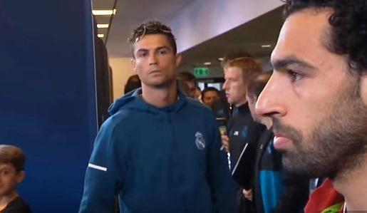 Apa Makna Tatapan Tajam Crianto Cristiano Ronaldo Ke M.Salah ?