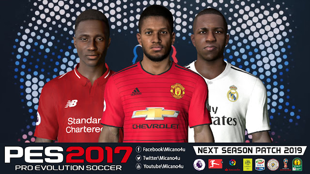 Pes 2017 Next Season Patch 2019 Released 13 06 2018