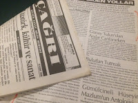 """Büyük Türk şair ve romancısı Sayın """"Ayhan Hünalp""""in Anılar Canlanırken hakkındaki kritiklerini yazdığı dergilerden """"Çağrı Kültür Sanat Bilim"""" dergisi..."""