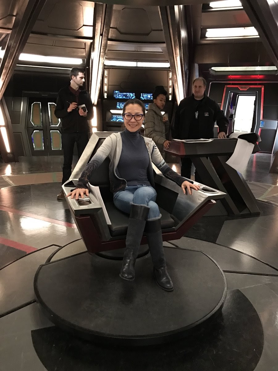 Star Trek Captains Chair Modern And A Half The Collective: Discovery Behind Scenes: Uss Shenzhou