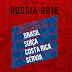COPA 2018: Confira os grupos completos da Copa do Mundo da Rússia, Brasil ficou no grupo E
