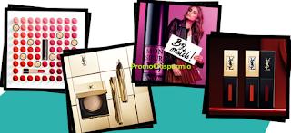 Logo Cosmopolitan ti regala i campioni omaggio Lancome o Yves Saint Laurent