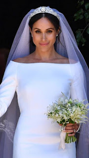 """Designer Emilia Wickstead """"Extremely Saddened"""" By Meghan Markle Wedding Dress Commentary By: JESS COHEN Mon., May. 28, 2018 7:00 A"""