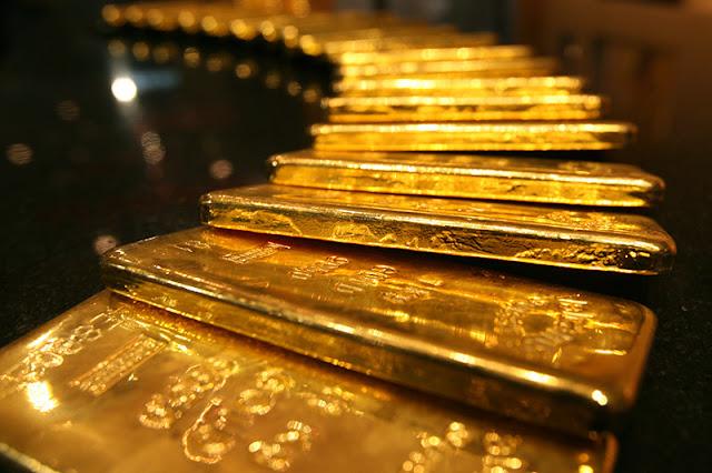 oro sube - Lingotes de oro