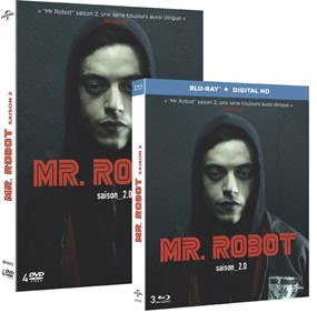 Mr ROBOT Saison 2 en DVD et Blu-ray