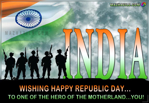 happy republic day greeting cards