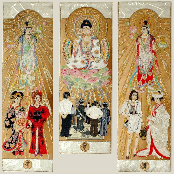 Eri Imamura (Japan) - Buddhist art