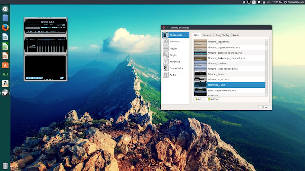 qmmp-2 Winamp alternative Qmmp 1.1.9 Audio Player for Ubuntu/Linux Mint/other Ubuntu derivatives Technology
