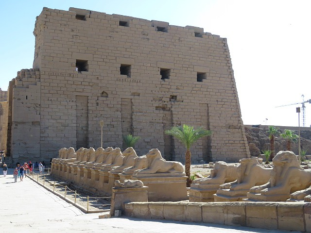 Avenue of Sphinxes Karnak